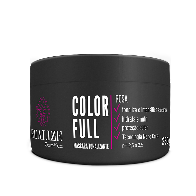 Color Full Rosa - Máscara Tonalizante