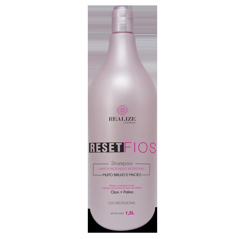 Shampoo Reset Fios - Hidratação e Recuperação dos fios