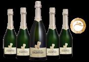 Combo Dádivas Brut 4 garrafas 750ml + 1 magnum 1,5l