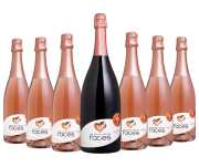 Combo Faces Espumante Brut Rosé