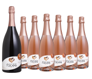 Lidio Carraro Pack Espumantes Faces do Brasil Brut Rosé