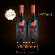 Primeiro Vinho de ânfora do Brasil - Cota com 2 garrafas de 750ml
