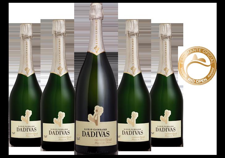 Combo Dádivas Brut 4 garrafas 750ml + 1 magnum 1,5l  - BOUTIQUE LIDIO CARRARO