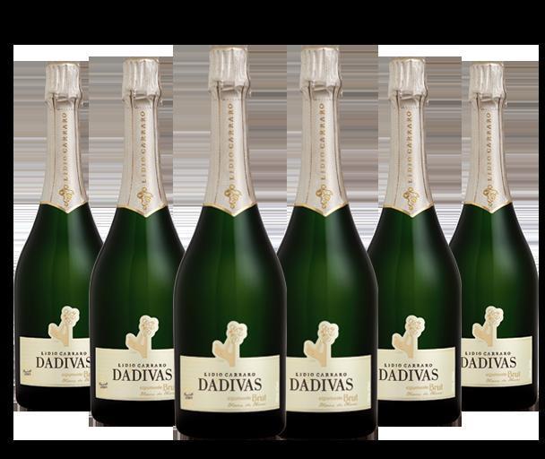 Combo Dádivas Espumante Brut Blanc de Blanc + Tampa para garrafa de espumante dourada  - BOUTIQUE LIDIO CARRARO