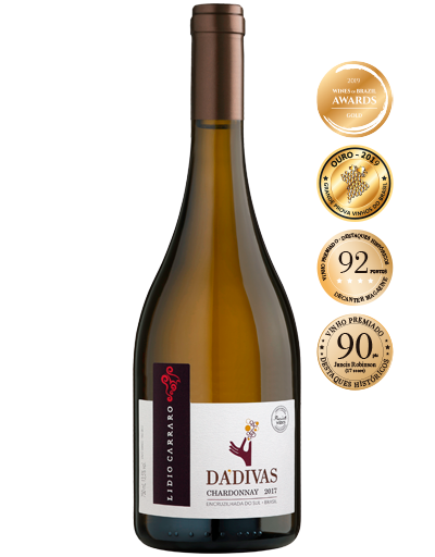 Lidio Carraro Dádivas Chardonnay 2017 750ml  - BOUTIQUE LIDIO CARRARO