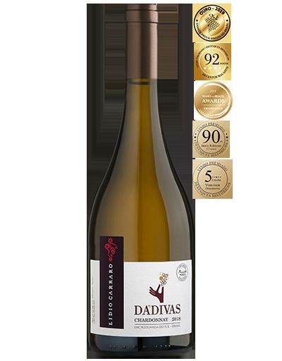 Lidio Carraro Dádivas Chardonnay 2018 750ml  - Vinícola Lidio Carraro