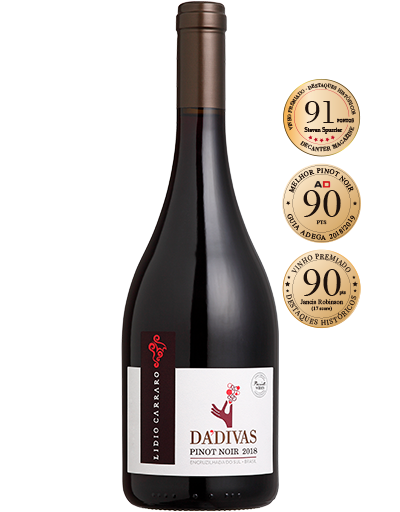 Lidio Carraro Dádivas Pinot Noir 2018  - BOUTIQUE LIDIO CARRARO