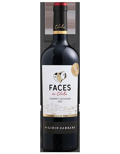 Lidio Carraro Faces de Chile Cabernet Sauvignon 2020 750ml  - Vinícola Lidio Carraro