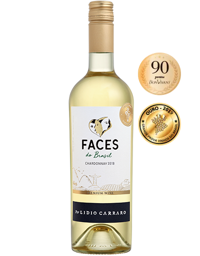 Lidio Carraro Faces do Brasil Chardonnay 2019 750ml  - Vinícola Lidio Carraro
