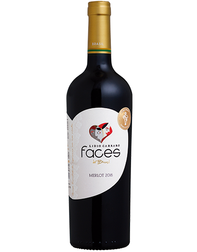Lidio Carraro Faces do Brasil Merlot 2016 750ml  - BOUTIQUE LIDIO CARRARO