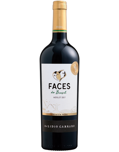Lidio Carraro Faces do Brasil Merlot 2017 750ml  - Boutique Lidio Carraro
