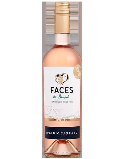 Lidio Carraro Faces do Brasil Pinot Noir Rosé 2020 750ml  - Vinícola Lidio Carraro