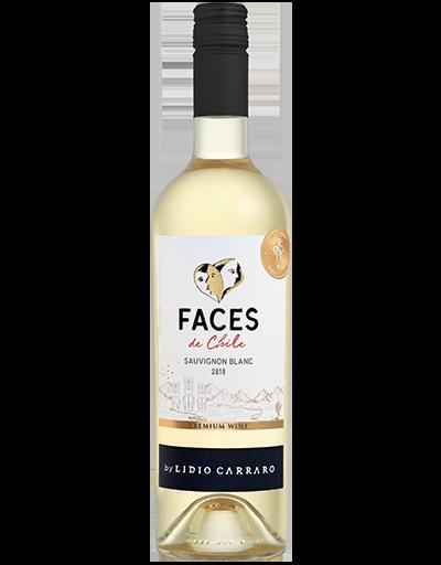 Lidio Carraro Faces de Chile Sauvignon Blanc 2018 750ml  - BOUTIQUE LIDIO CARRARO