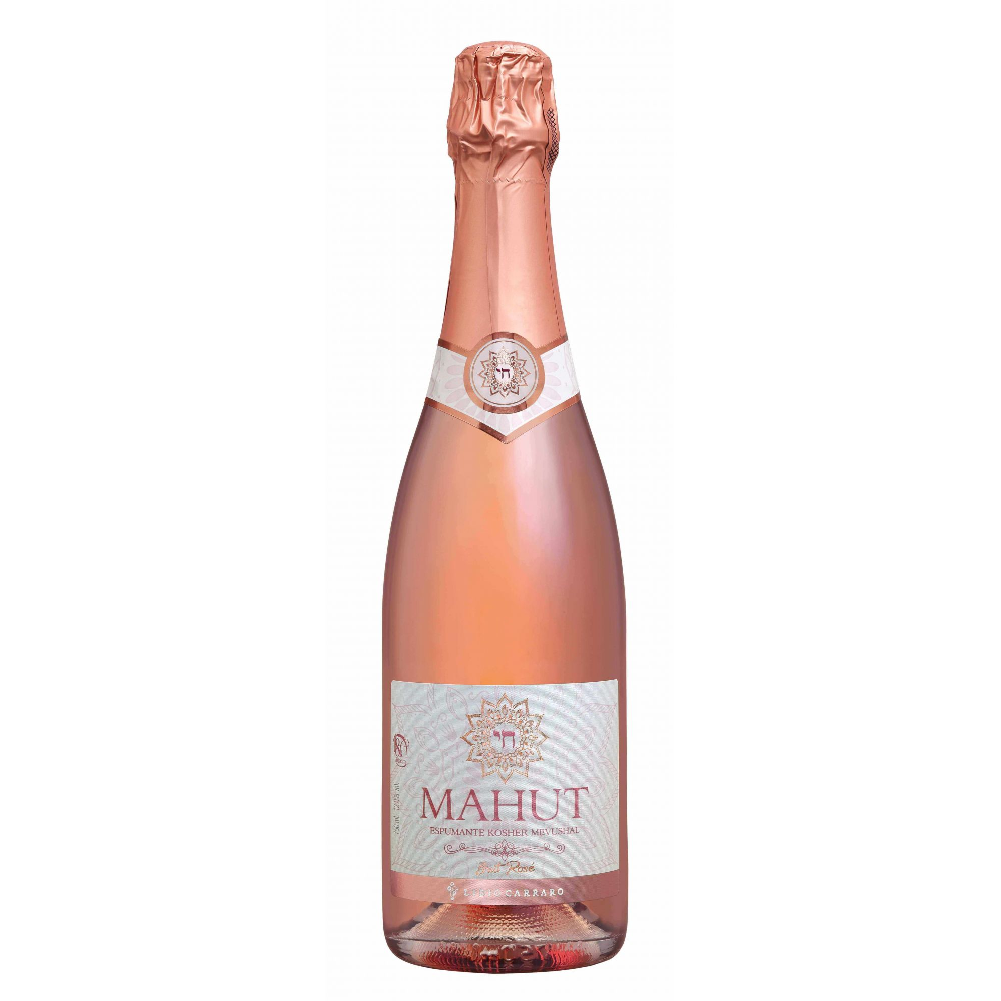 Lidio Carraro Espumante Brut Rosé Kosher MAHUT    - BOUTIQUE LIDIO CARRARO