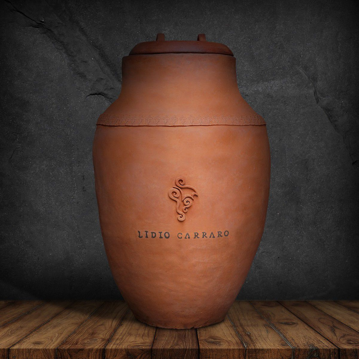 Pré-venda - Primeiro Vinho de ânfora do Brasil - Cota com 2 garrafas de 750ml  - BOUTIQUE LIDIO CARRARO