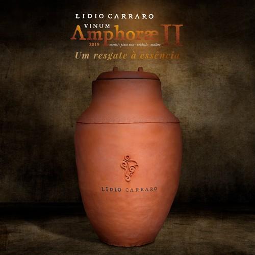 VINUM AMPHORAE II safra 2019 - Cota Lote II com 2 garrafas de 750ml  - Vinícola Lidio Carraro