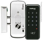 Fechadura Eletrônica Digital Sobrepor Intelbras FR 201, Acesso por Senha ou Cartão Proximidade