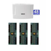 Kit Central de Interfone Condomínio com 48 Ramais Intelbras