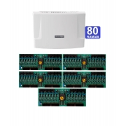Kit Central de Interfone Condomínio com 80 Ramais Intelbras