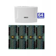 Kit Central de Interfone Condomínio com 64 Ramais Intelbras