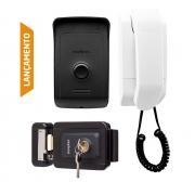 Kit Porteiro Interfone Residencial Intelbras Ipr 1010 e Fechadura