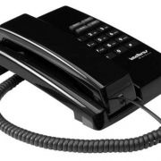 Telefone Com Fio Intelbras Tc 50 Premium 3 Volumes De Campainha Preto