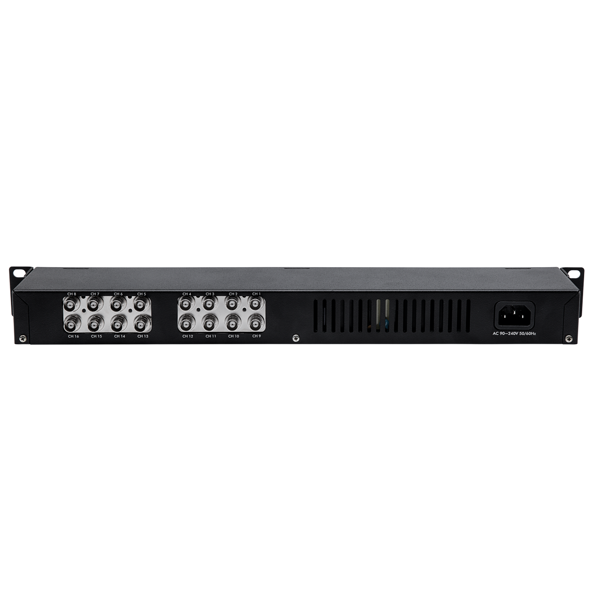 Balun com alimentação de 16 canais VBP A16C Full HD