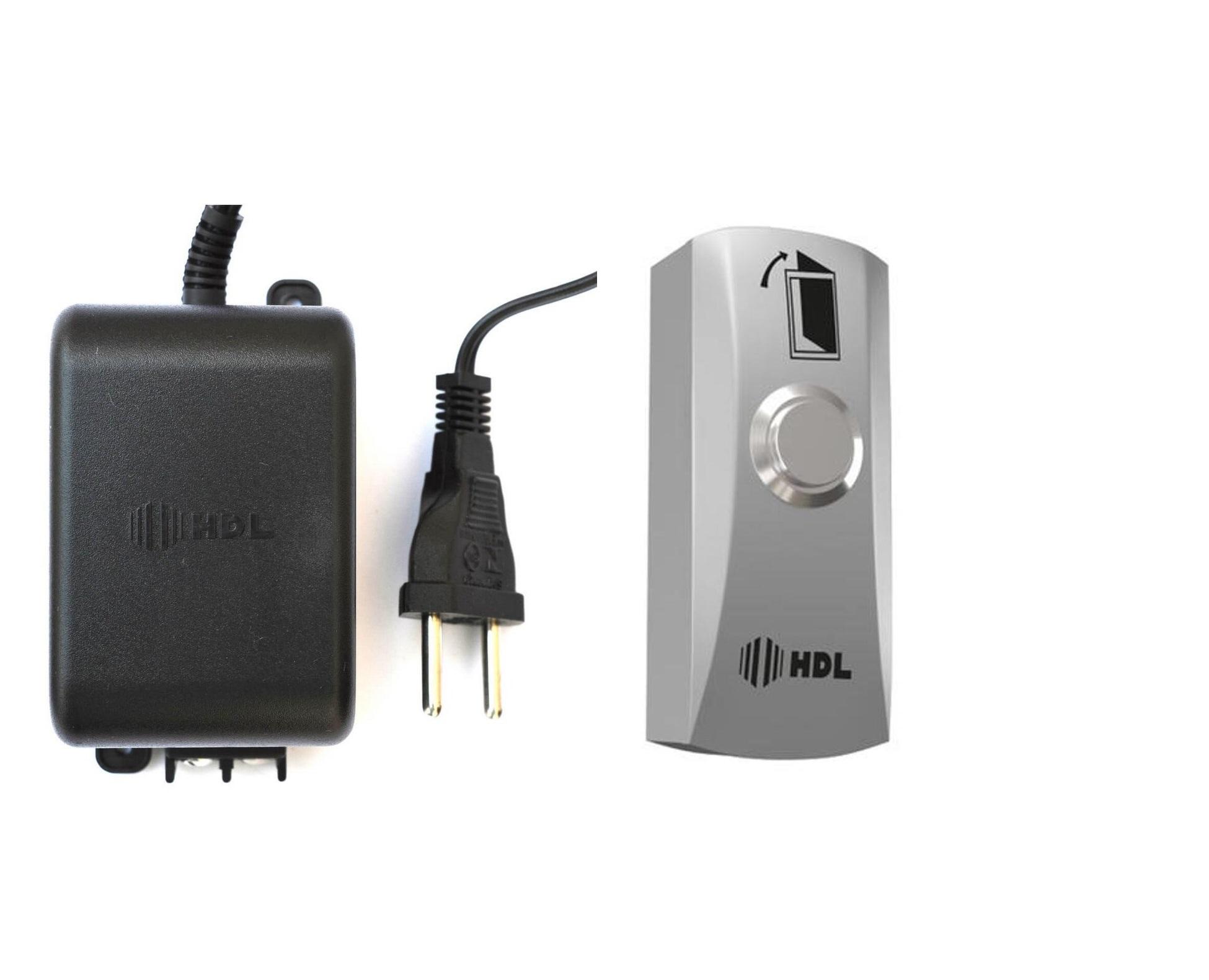 Botoeira HDL Ip66 Inox botão acionador de abertura da fechadura e fonte