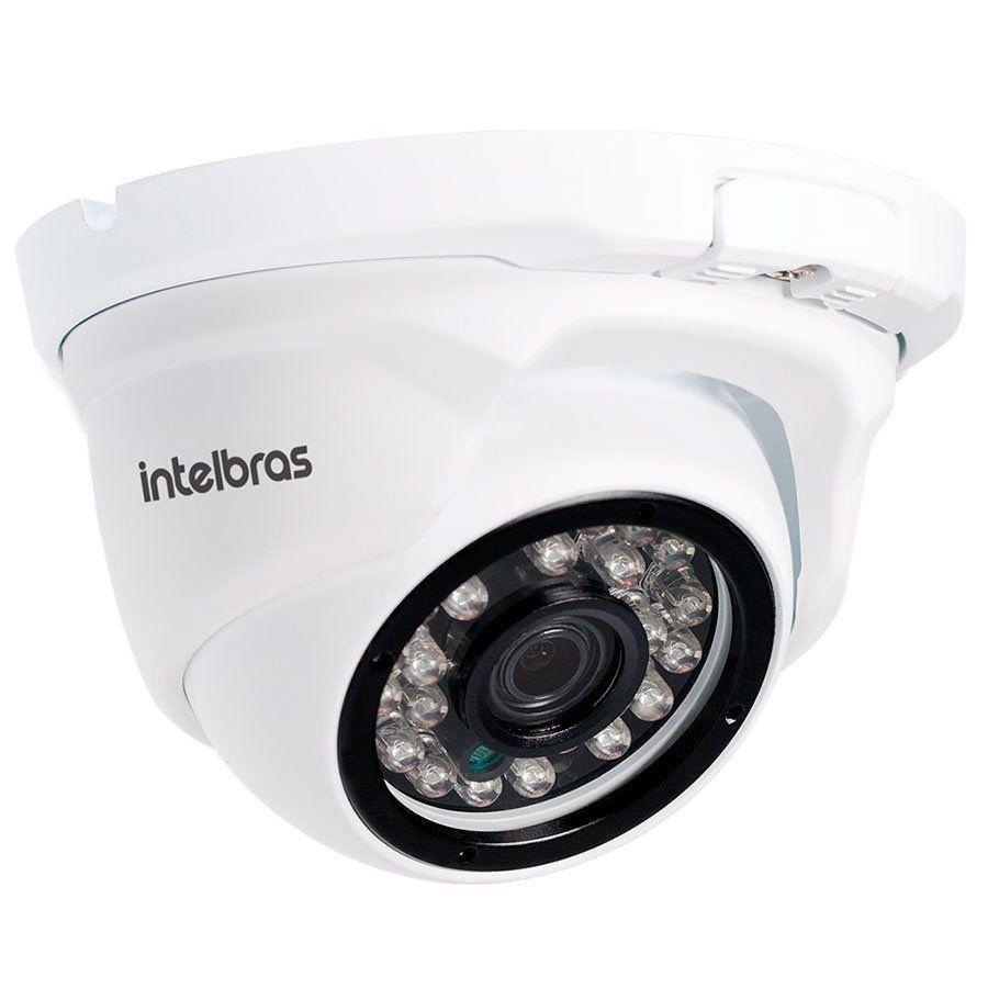 Câmera IP 2.0 MegaPixel FullHD Dome Intelbras VIP 1220 D Lente 2,8mm, Infravermelho