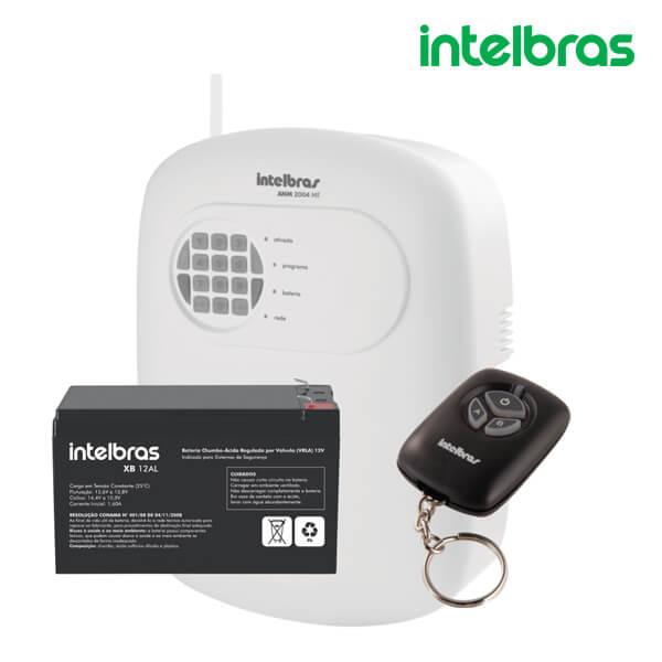 Central De Alarme Não Monitorada Com 4 Zonas ANM 2004 MF + Bateria – Intelbras
