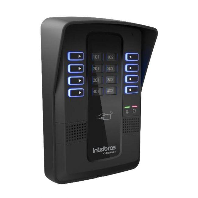 Central de Interfonia 8 Pontos Com Controlador de Acesso RFID Collective 8 Intelbras