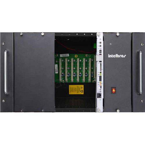 Central Telefonica Pabx Híbrida Impacta 220 Intelbras 0/0 Rack ou Parede