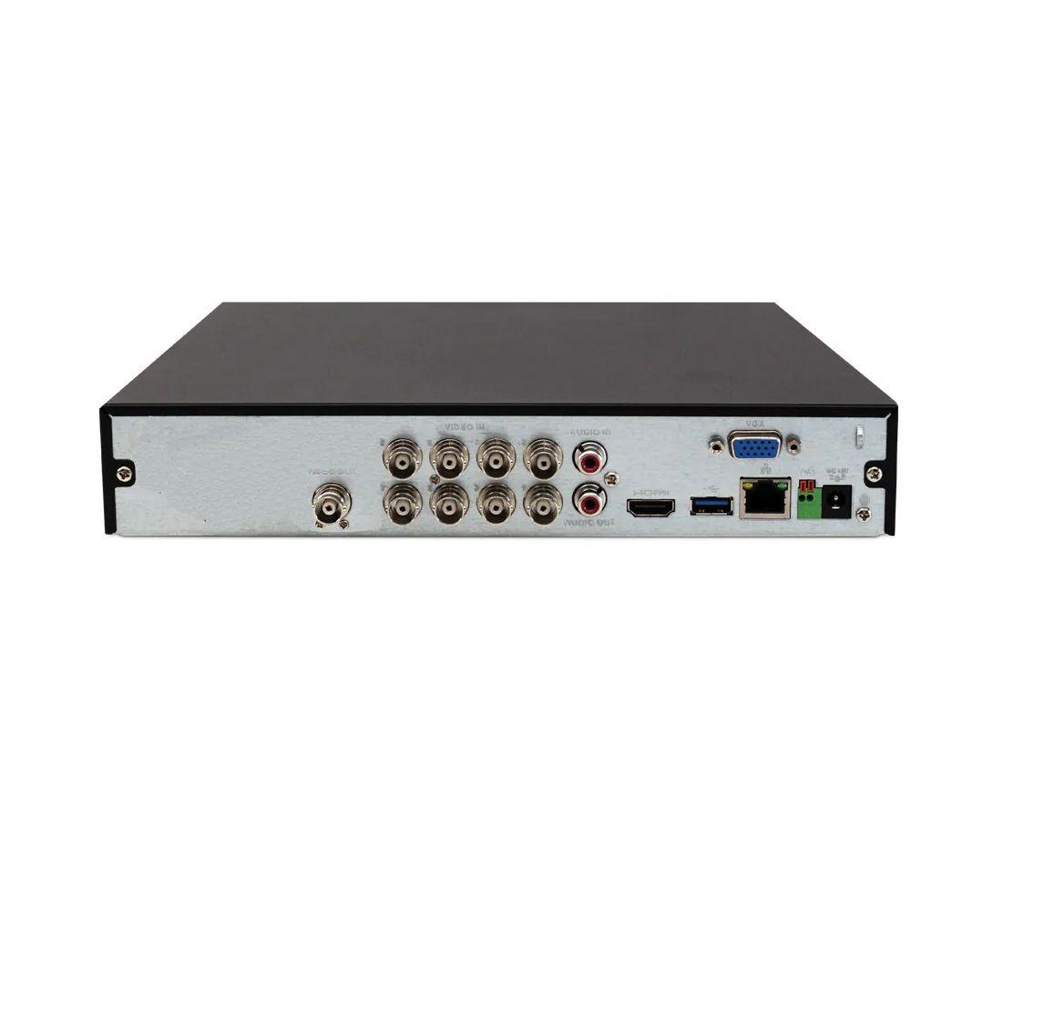 DVR Intelbras 08 Canais Full HD MHDX 3108 1080p Multi HD + 4 Canais IP 5 Mp