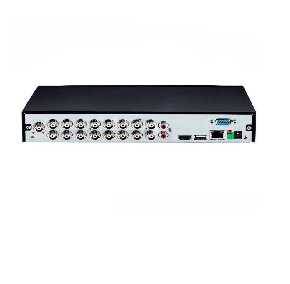 DVR Intelbras MHDX 1116 Multi HD - 16 Canais 1080p Lite + 2 Canais 6Mp IP