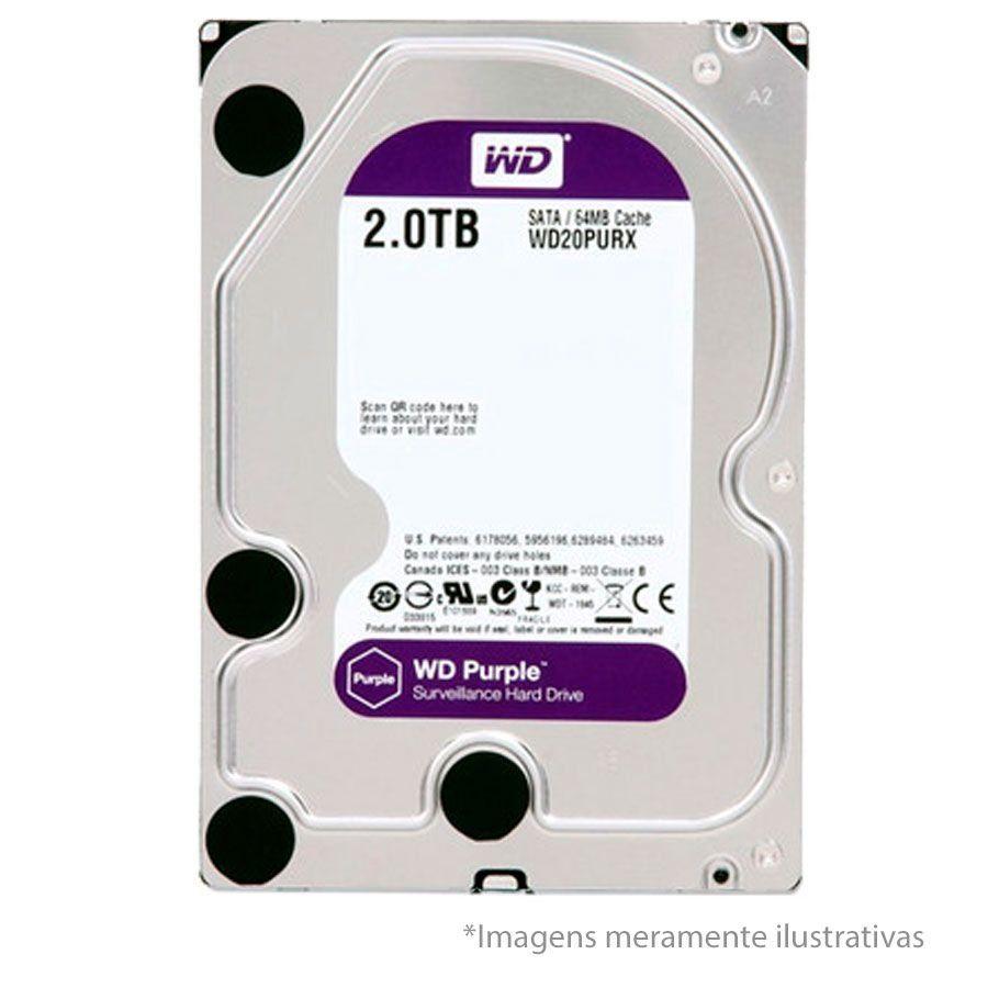 DVR Stand Alone Intelbras MHDX 3116 16 Canais Full HD 1080p Multi HD + 08 Canais IP 5 Mp + HD WD Purple 2TB