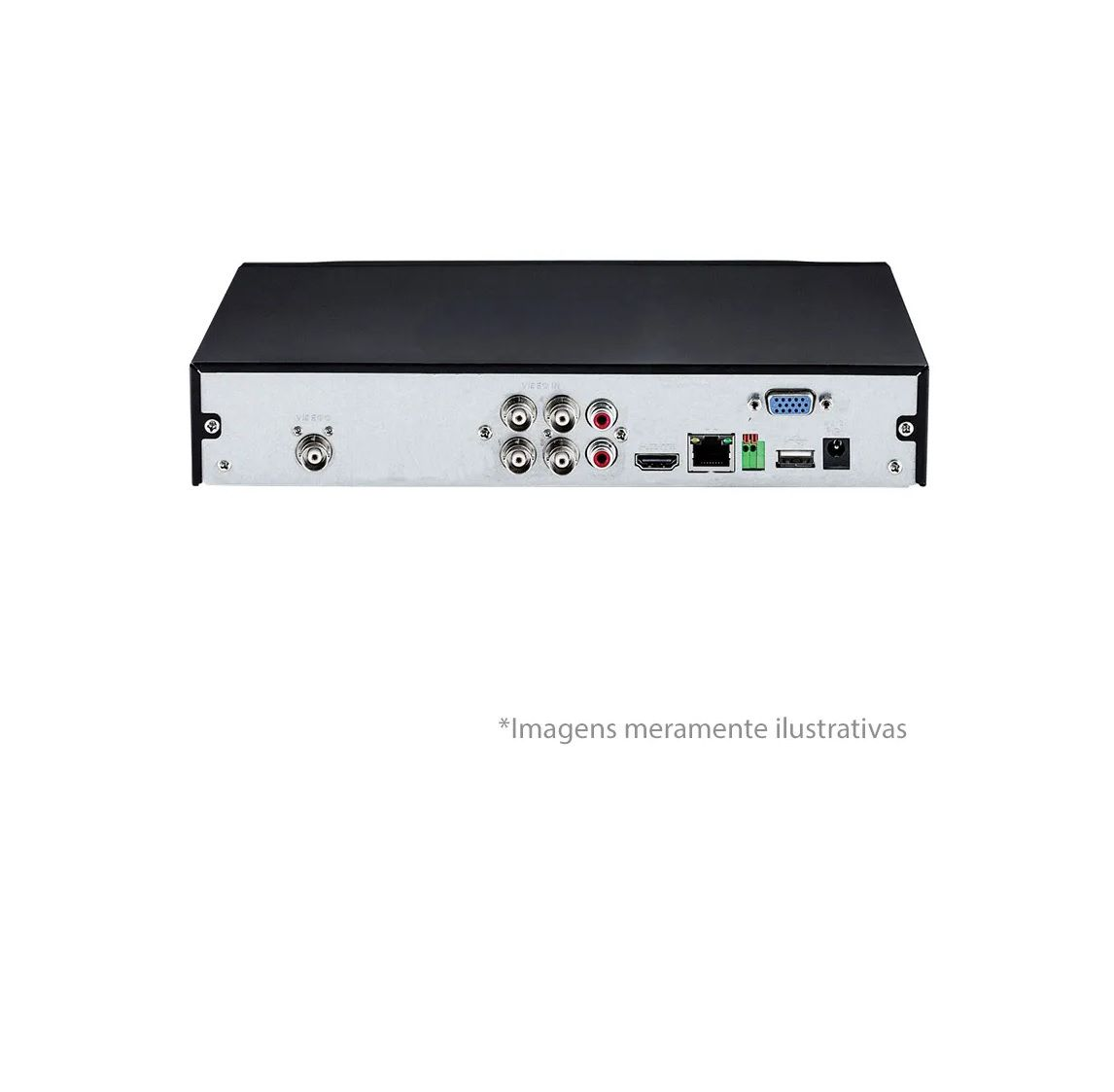 DVR Stand Alone Multi HD Intelbras MHDX-1104 - 4 Canais 1080p Lite + 1 Canal 2mp IP