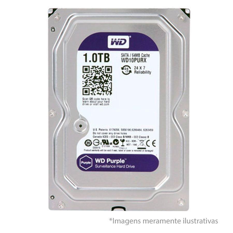 DVR Stand Alone Multi HD Intelbras MHDX-1108 08 Canais + HD 1TB WD Purple de CFTV