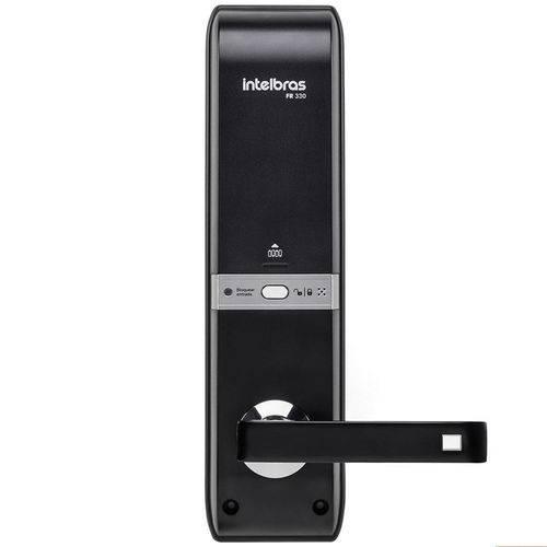 Fechadura digital de embutir com biometria FR 330