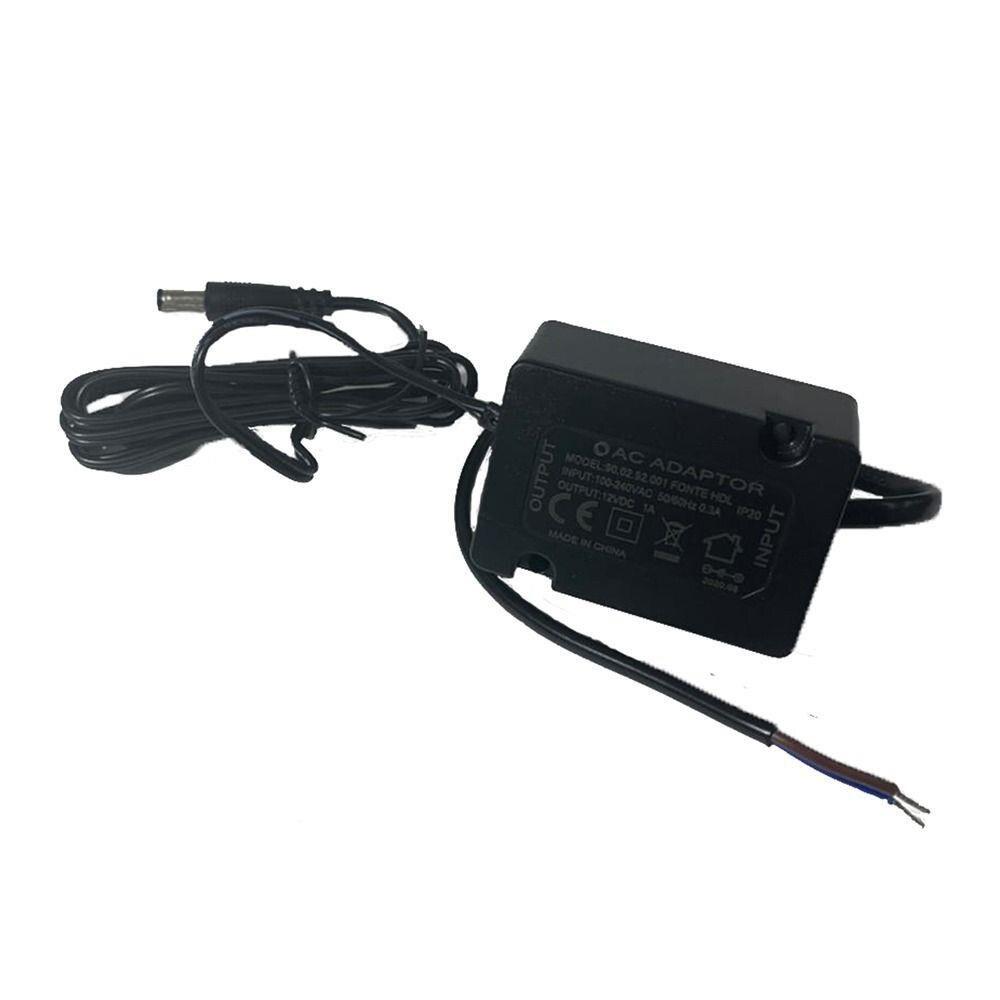 Fechadura Elétrica C90 Cilindro Ajustável Abertura p/ Fora e Controle de Acesso e Fonte