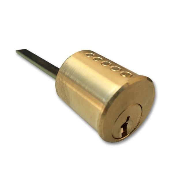 Fechadura Elétrica C-90 com Botão Cinza Cilindro Ajustável HDL
