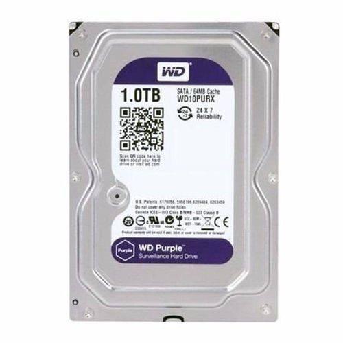 HD Interno Wd Purple 1-TB Sata 5400rpm 64mb Intelbras