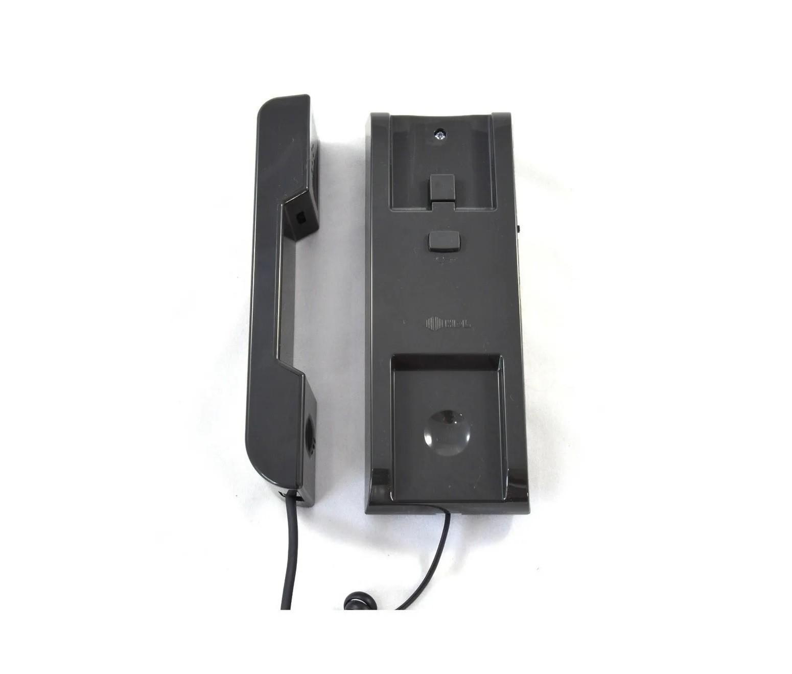 Interfone AZ-S 01 Cinza Escuro HDL