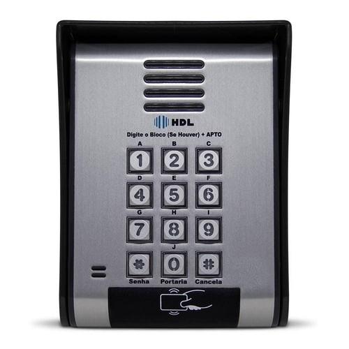 Interfone Coletivo Hdl 18 Pontos Controle De Acesso Cartão