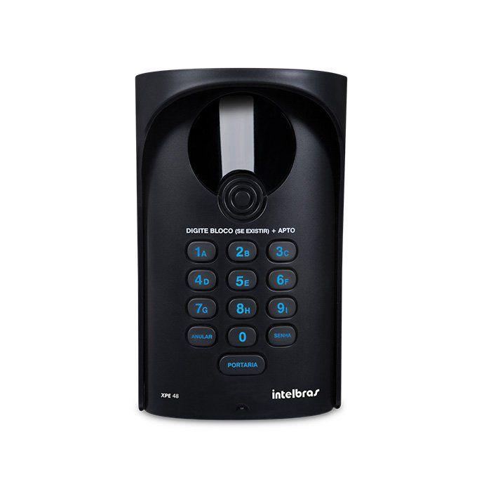 Kit Central de Interfone Condomínio 16 Ramais Comunic 16 + 8 Terminais + Porteiro XPE-48 + Fechadura HDL