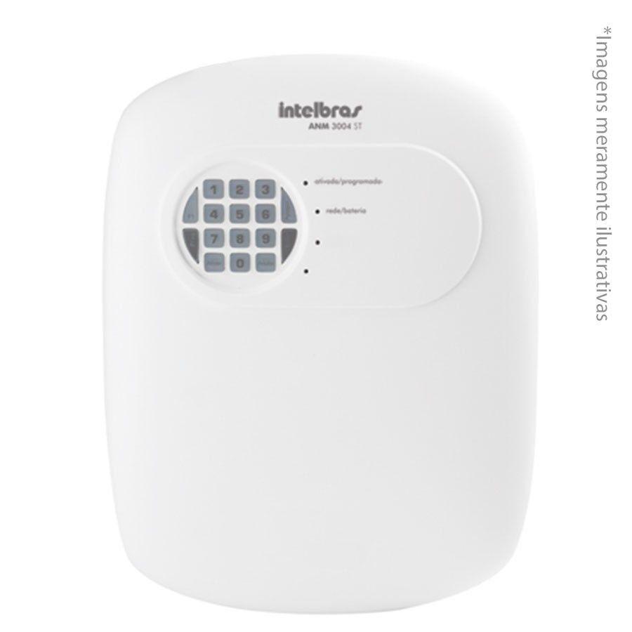 Kit de Alarme Intelbras ANM 3004 ST com 04 Sensores e Discadora por Telefone fixo Sem Fio