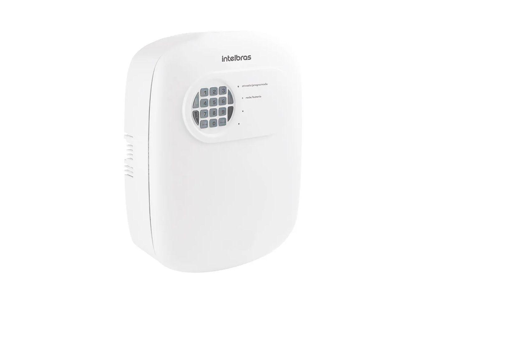 Kit de Alarme Intelbras ANM 3004 ST com 7 Sensores e Discadora por Telefone fixo Sem Fio