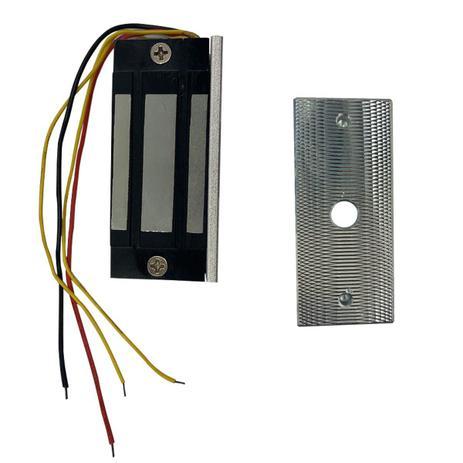 Kit fechadura eletroímã de embutir HDL 60Kg F M-90 60E