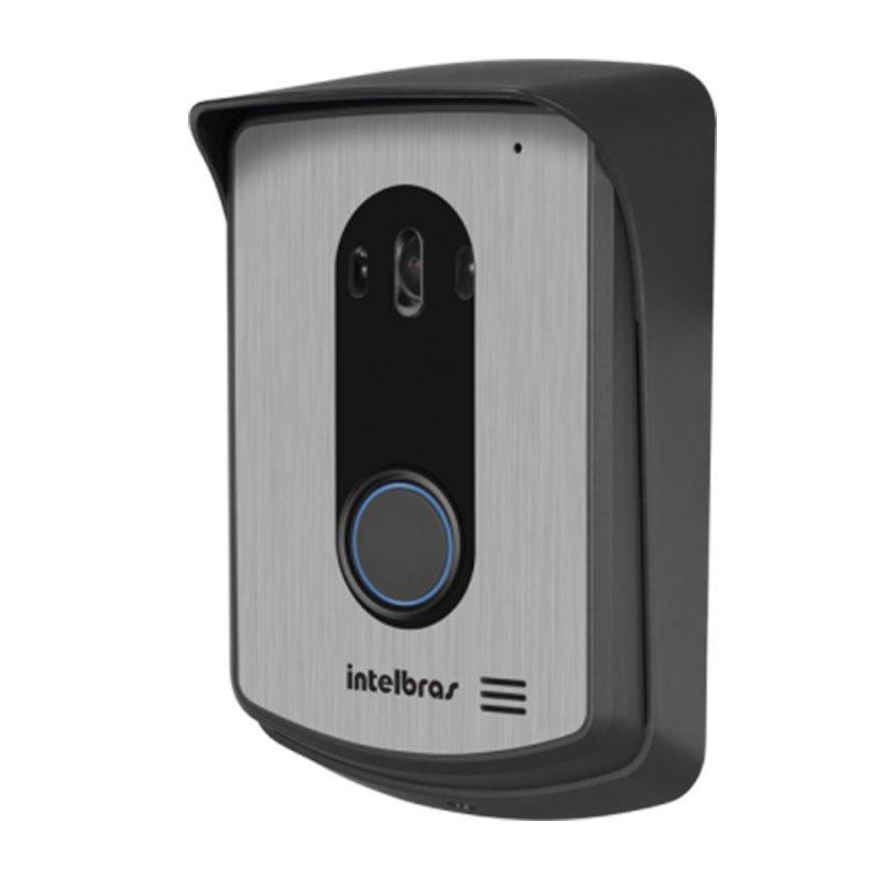 Vídeo Porteiro Intelbras IV 7010 HF Viva Voz, Visualiza até 04 Cameras, Tela LCD 7