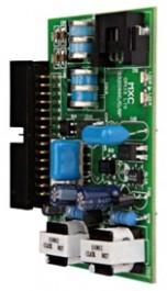Placa de  Serviço LTS 02 Linhas p/ Centrais Intelbras/Maxcom CP 48 E CP 112