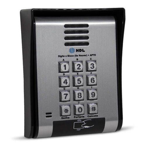 Porteiro eletrônico com teclado alfa numérico F12-SCA HDL